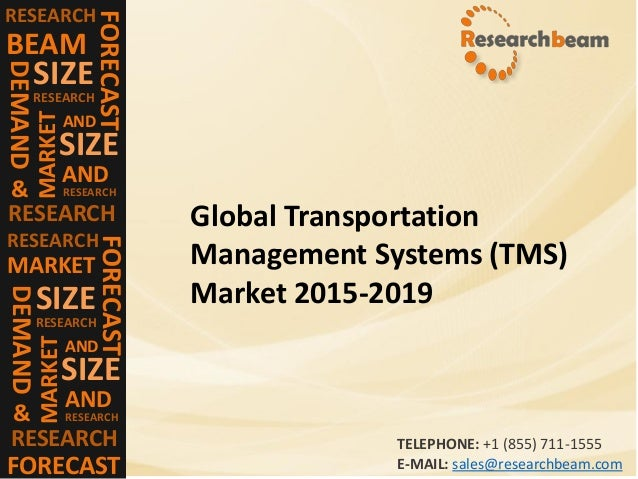 Transportation Management Systems Market (Industry) 2015
