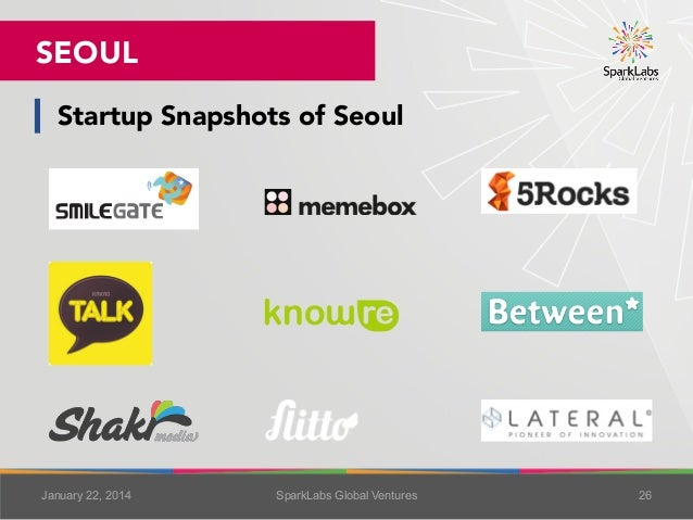 SEOUL Startup Snapshots of Seoul 