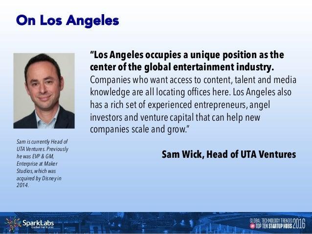 LOS ANGELES 12 Unicorn Startups in Los Angeles