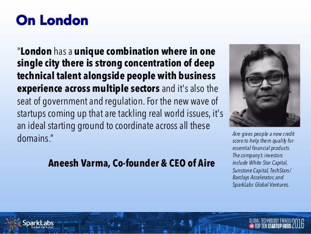 LONDON 10 Unicorn Startups in London