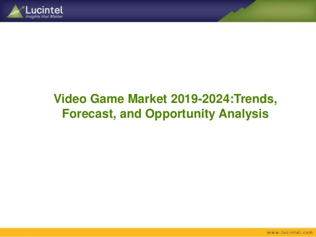 Video Game Market Report: Trends, Forecast and Competitive