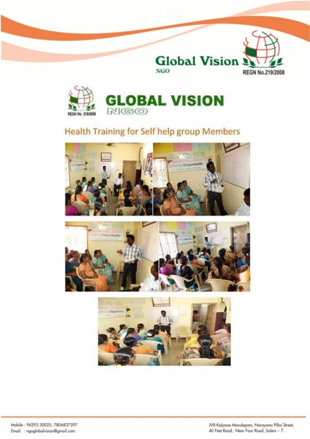 Global vision ngo activity