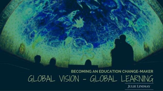 My global journey @julielindsay