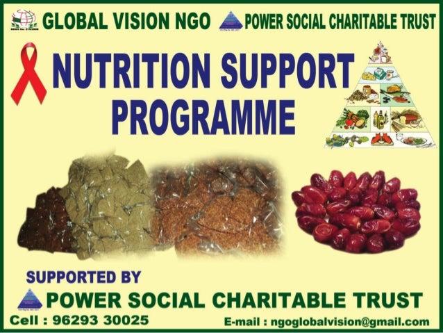 Global vision nutrition support programme
