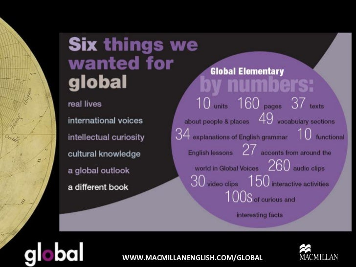 global course book by macmillan