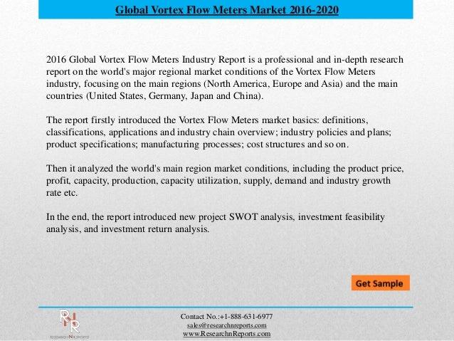 Global vortex flow meters Market Forecasts 2021 - Research N Reports  Slide 2