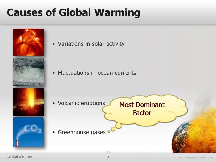 global warming and the problems caused by human activities