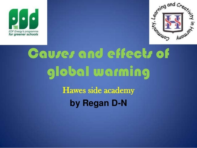 Causes and effects of global warming Hawes side academy by Regan D-N