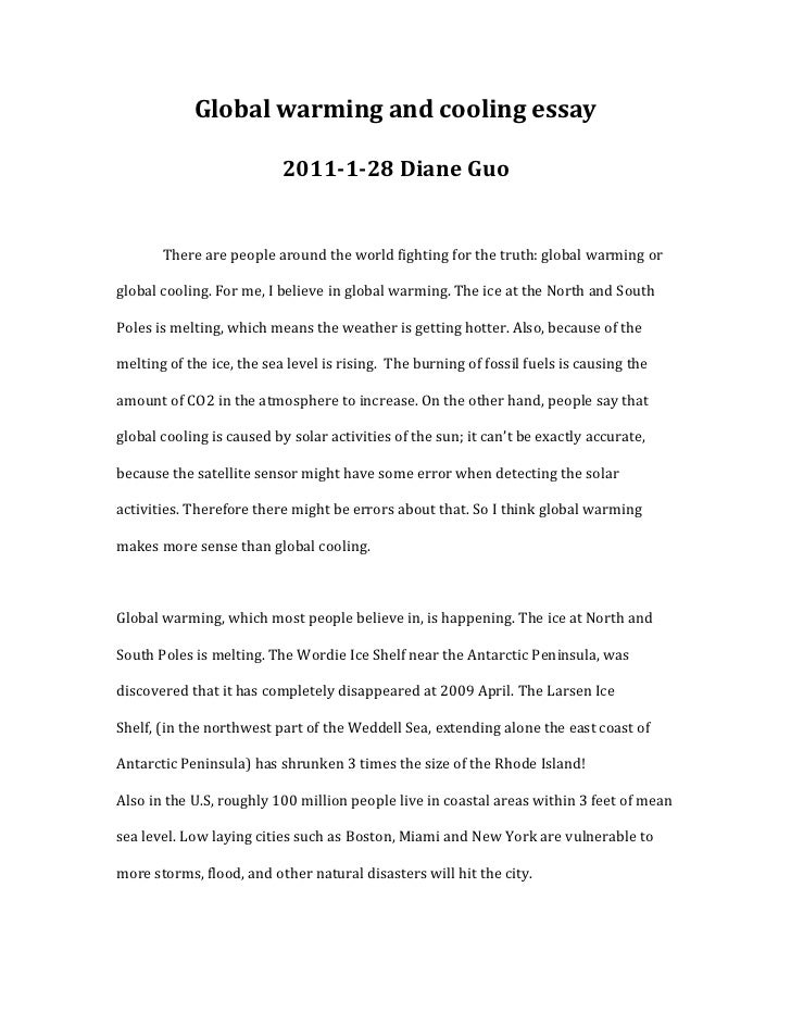 global warming and cooling essay jpg cb  global warming and cooling essay <br >2011 1 28 diane guo