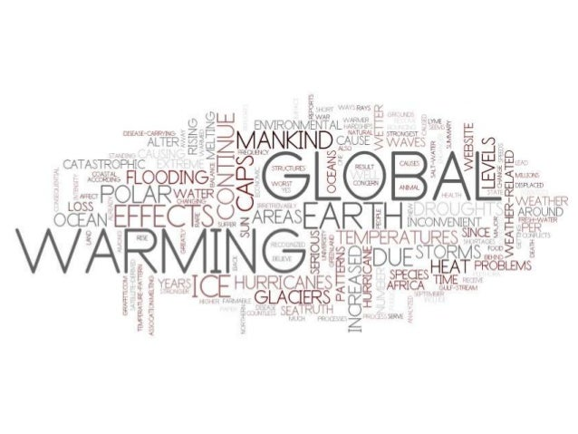 global warming effects on earth