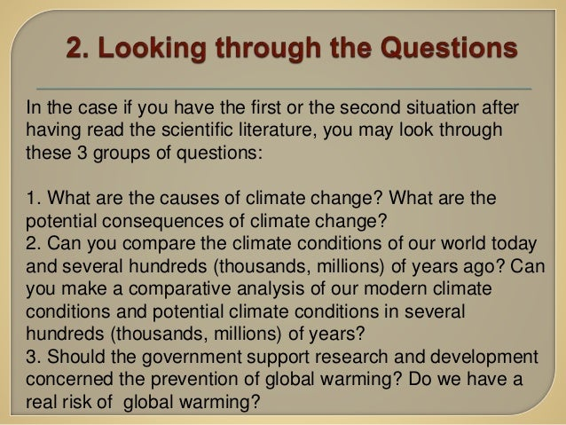 global warming essay 7