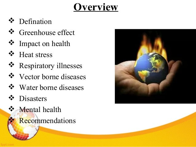 Image result for greenhouse gases and diseases