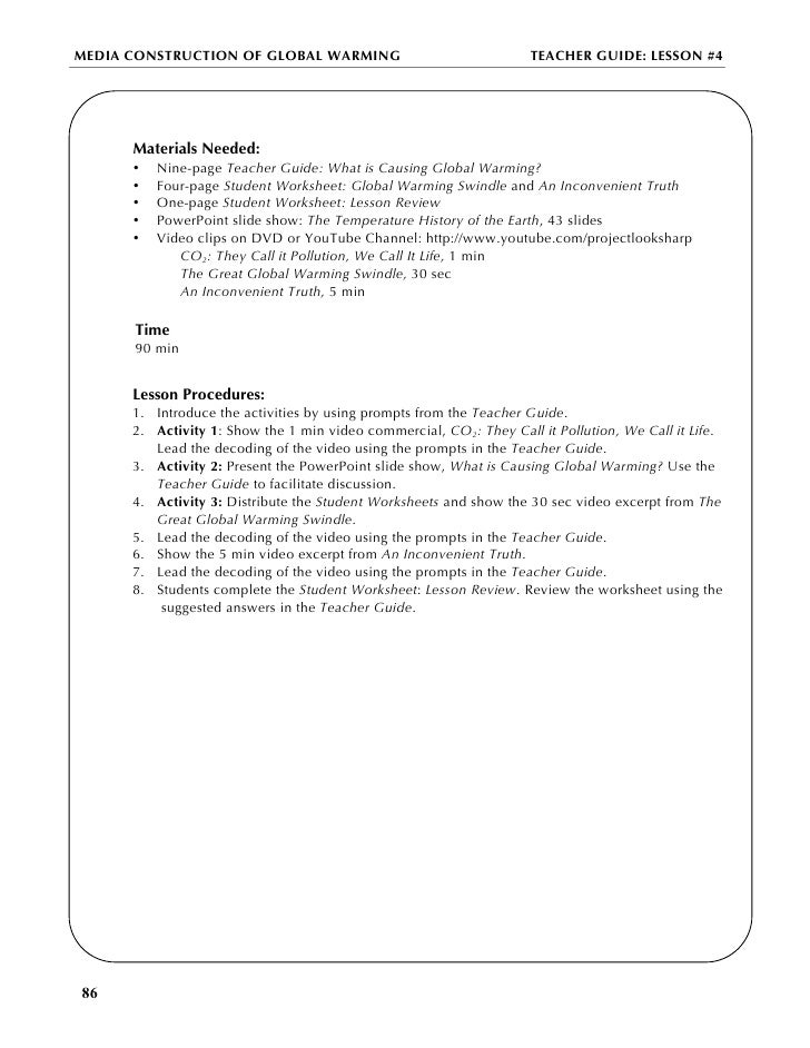 An Inconvenient Truth Worksheet Answers - andrewgarfieldsource