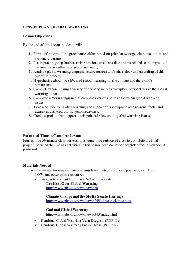 Global warming lesson plan greek suggestion lesson plan global warming lesson objectives by the end of this lesson students will ccuart Image collections