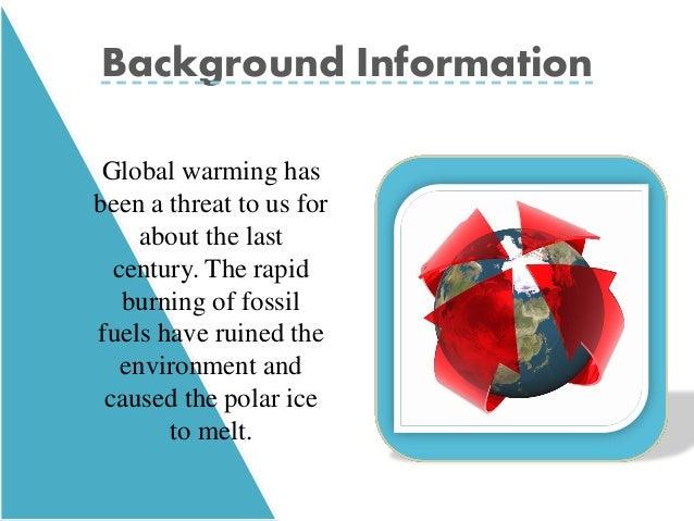 Threat of global warming essay