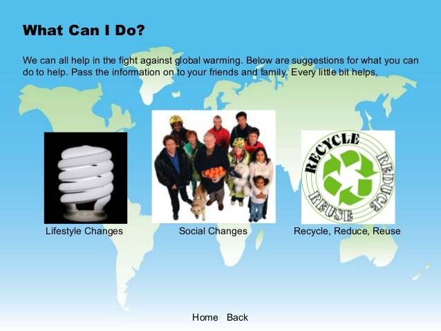 global warming how to help