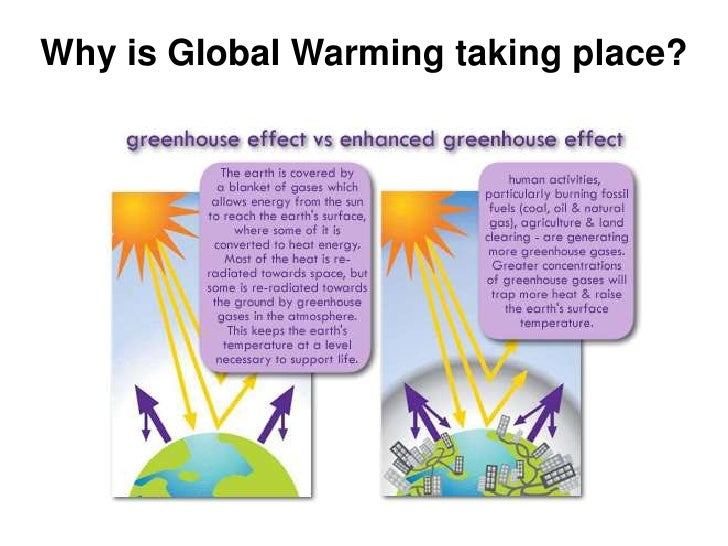 Why is Global Warming taking place?