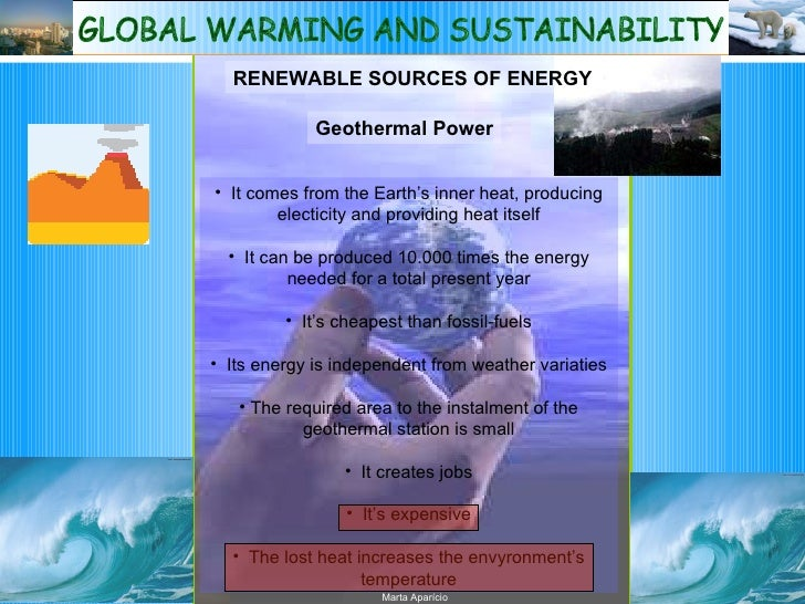sustainability and global warming Climate change and resource sustainability global warming is exacerbating the sustainability challenge as it may research paper august 2015 6.