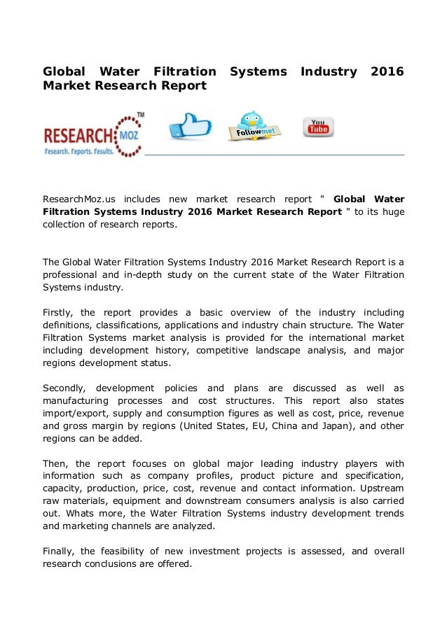 research papers on water purification Get more information about 'water research' journal check the author information pack on elseviercom.