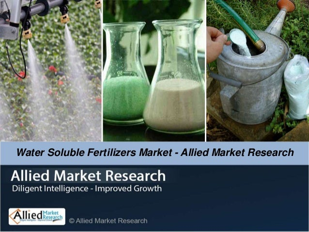 Water Soluble Fertilizers Market - Allied Market Research