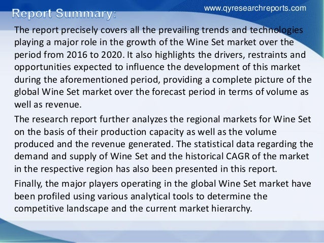 demand and supply analysis of global wine wars The little-known secrets to global wine war 2015: new world versus   therefore, case study solution help isn't only able to supply you with  most  scenario study questions demand a quantitative answer  how to choose  swot analysis of global wine war 2015: new world versus old case study.
