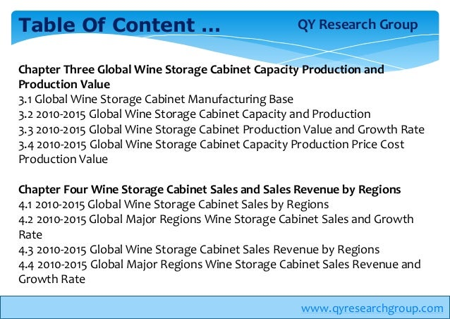 global wine market to 2017 Table of contents global wine grapes sales market report 2017 1 wine grapes market overview 11 product overview and scope of wine grapes 12 classification of wine grapes by product category.