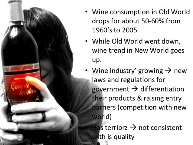 the global wine war • because the uk is a key player in global wine trade, accounting for a major share of the world's wine imports,  imports since world war i, and prior to 1950 it figure 1: wine's shares of uk merchandise import value since 1800 and of volume.