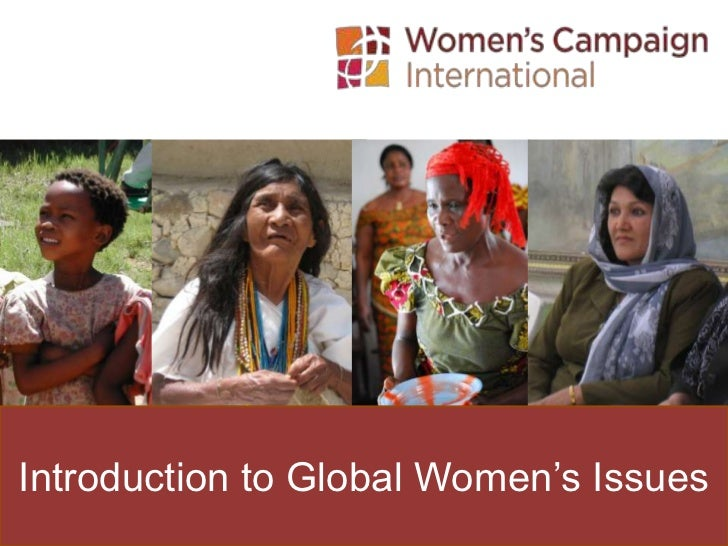 Introduction to Global Women's Issues