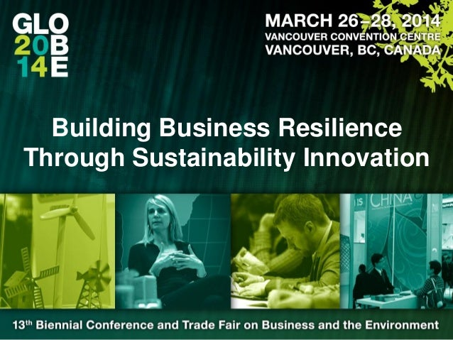 Building Business Resilience Through Sustainability Innovation