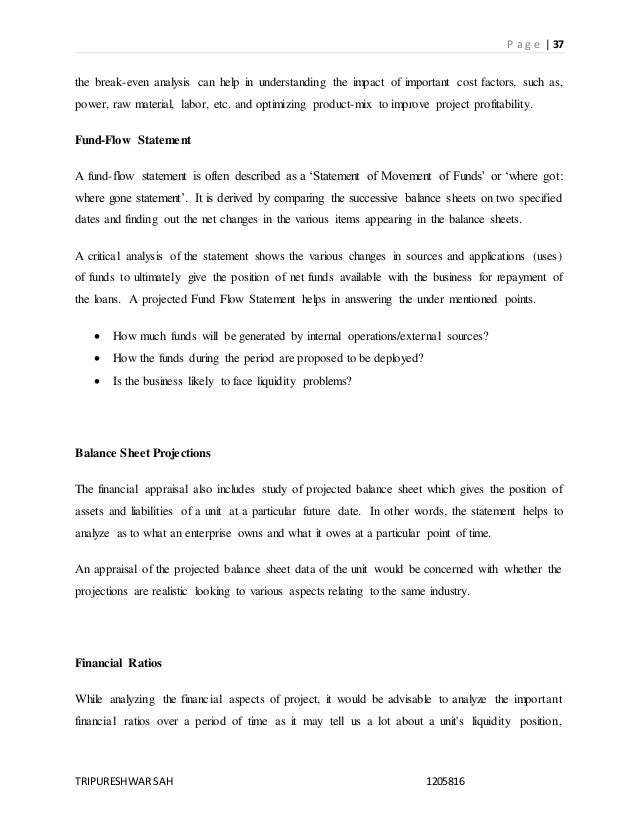 Essay on Investment