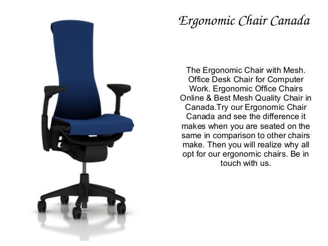 Ergonomic Chair Canada ...  sc 1 st  SlideShare & Globel Office Furniture And Executive Chairs In Ottawa