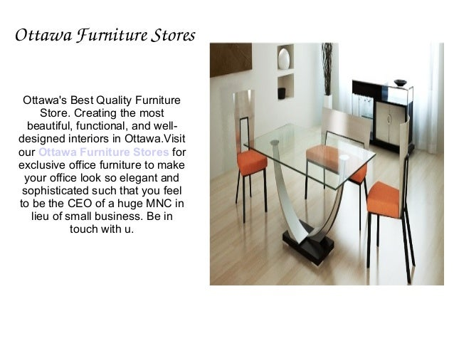 Globel Office Furniture And Executive Chairs In Ottawa