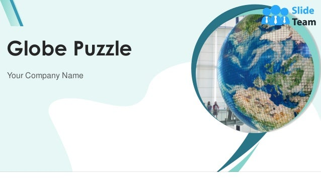 Globe Puzzle Your Company Name