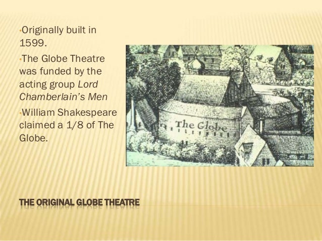 globe theater essay
