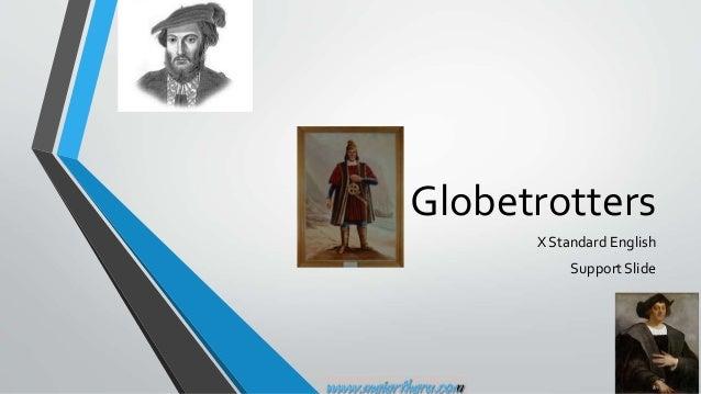 Globetrotters X Standard English Support Slide