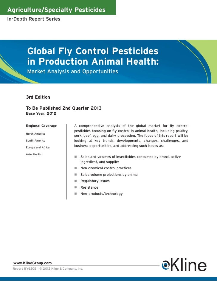 Agriculture/Specialty PesticidesIn-Depth Report Series          Global Fly Control Pesticides          in Production Anima...