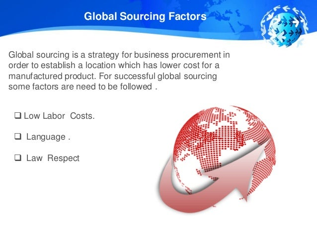 global sourcing strategy 9,234 global sourcing jobs available on indeedcom procurement manager, program officer, analyst and more.