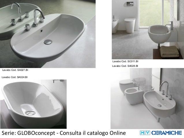 Ceramica Globo Concept.Ceramica Globo Globo Concept