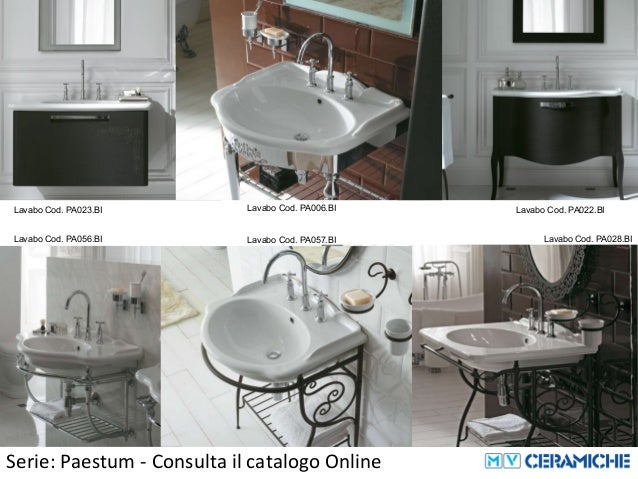 Vasca Da Bagno Globo Paestum : Ceramica globo paestum