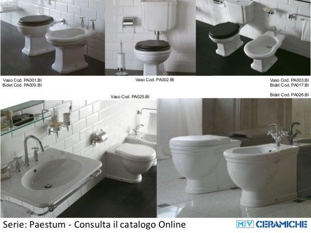 Ceramica Globo Serie Paestum.Ceramica Globo Paestum