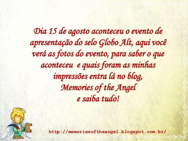 Evento de apresentação do Selo Globo Alt Slide 2