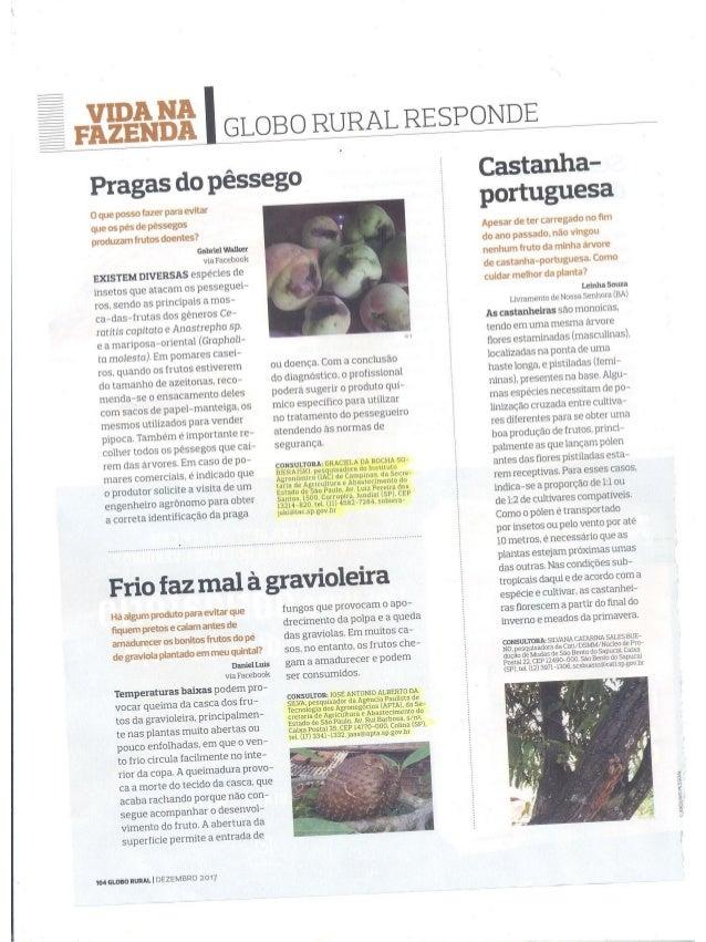 Globo Rural Responde - Dezembro 3