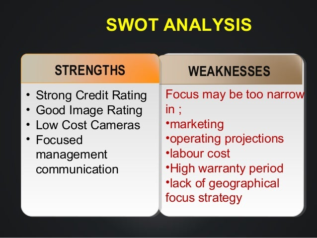 a swot analysis of credit rating institutions Results 1 - 40 of 40  ptt global chemical and sk global chemical: peer comparison – pttgc's  business profile and profitability are stronger but growth plan.