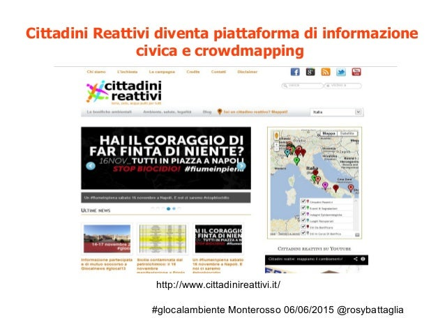 #glocalambiente Monterosso 06/06/2015 @rosybattaglia http://www.cittadinireattivi.it/ Cittadini Reattivi diventa piattafor...