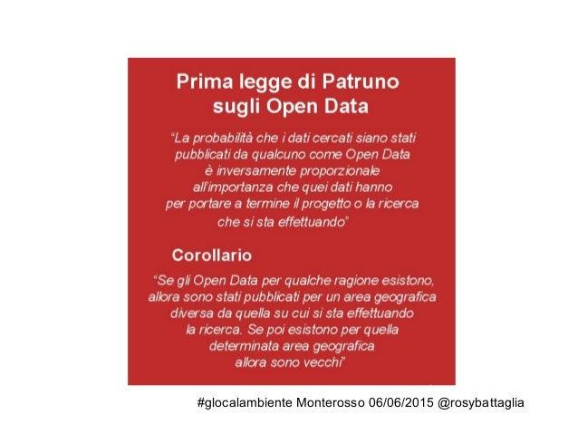 #glocalambiente Monterosso 06/06/2015 @rosybattaglia