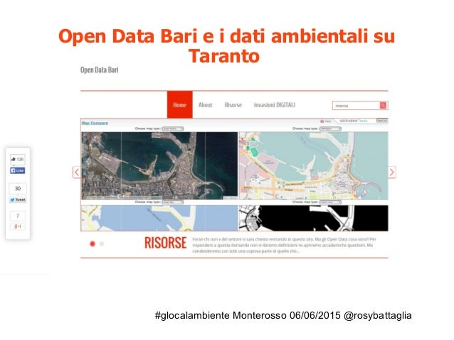 #glocalambiente Monterosso 06/06/2015 @rosybattaglia Strumenti per accedere ai dati attraverso le richieste alla PA: dal m...