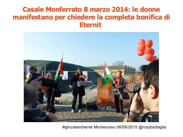 #glocalambiente Monterosso 06/06/2015 @rosybattaglia Ombre sulla bonifica di Pioltello Ex Sisas https://www.youtube.com/wa...