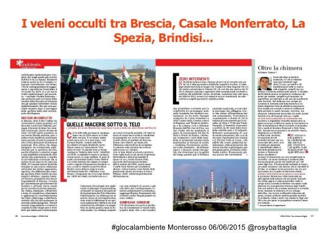 #glocalambiente Monterosso 06/06/2015 @rosybattaglia Su nòva Il Sole 24ore giugno 2014: Trasparenza civica per le bonifich...