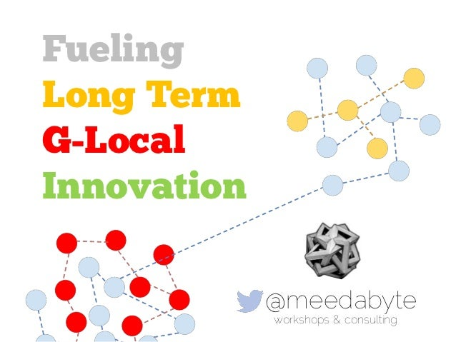 FuelingLong TermG-LocalInnovation             @meedabyte             workshops & consulting