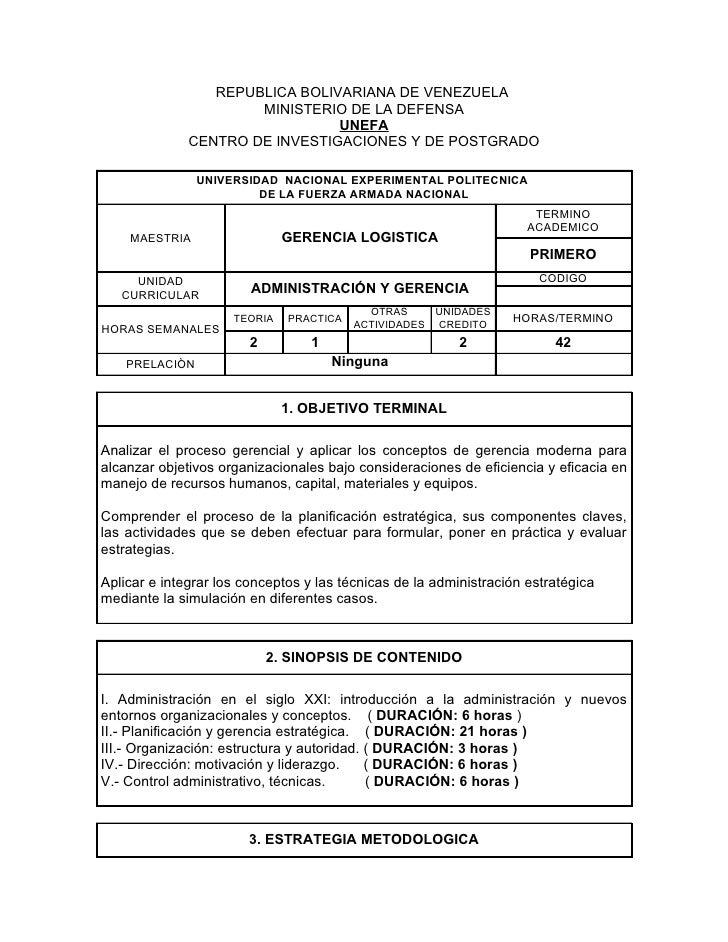 REPUBLICA BOLIVARIANA DE VENEZUELA                      MINISTERIO DE LA DEFENSA                                UNEFA     ...